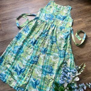 Dreamy April Cornell Pinafore Dress!